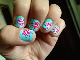 hawaiian flower nail design taylor u0027s board pinterest