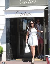 designer shops tamara ecclestone and fiancé rutland tour the designer stores