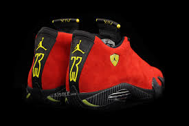 jordan ferrari black and yellow closer look at the air jordan 14