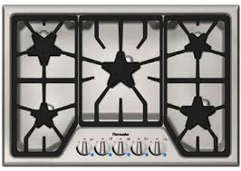 30 Gas Cooktop With Downdraft Thermador 30
