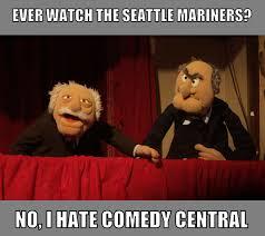 Waldorf And Statler Meme - statler and waldorf mariners baseball by angusmctavish on