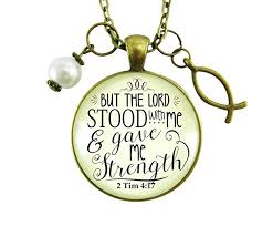 jesus fish necklace 24 jesus fish necklace but the lord stood with gave
