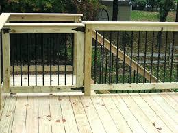 outdoor safety gates for decks u2013 vuelapuebla com