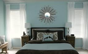 schlafzimmer hellblau wandfarbe taubenblau wandgestaltung ideen mit blauen farbtönen