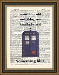 wedding quotes doctor who doctor who wedding quote something new something