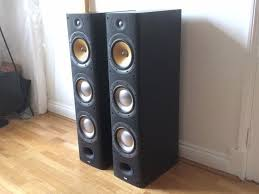bowers and wilkins home theater pair of bowers and wilkins b u0026w dm604 s3 floor standing speakers in