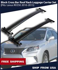 lexus rx 350 ireland 10 15 lexus rx350 rx450h oe style roof rack cross bars set luggage