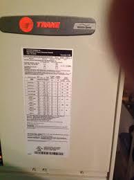 trane air conditioner installation manual air conditioner databases