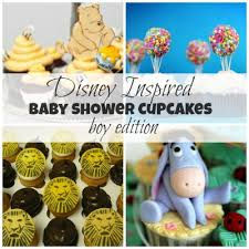 disney inspired baby shower cupcakes for boys disney baby