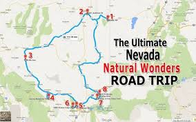 nevada road map 8 unforgettable nevada road trips to take in 2017