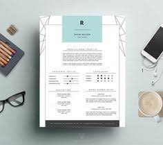 Iwork Resume Template Elegant Resume Template 4 Page Modern Cv Template U0026 Cover For Ms