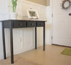 Black Gloss Console Table Furniture You Also Need Space Black Entryway Table With Extra