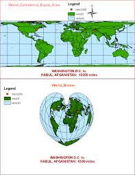 Map Projection Geog7 Intro To Gis Lab 5 Projections