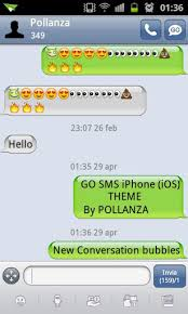 apk sms go sms iphone ios theme v1 8 apk by llenivra on deviantart