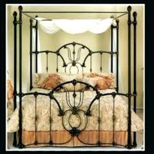Iron Bed Frames King Iron Canopy Bed Frame Iron Bed Frames Size Size