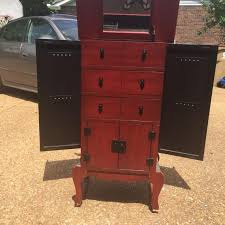 armoire awesome jewelry armoire for sale vintage standing jewelry
