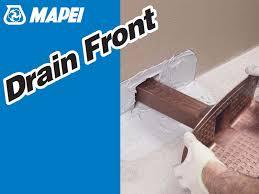 impermeabilizzazione terrazzi mapei bocchettone aeratore esalatore drain front by mapei