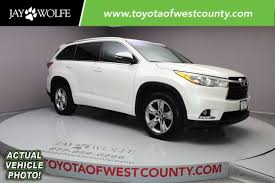 certified toyota highlander certified pre owned 2015 toyota highlander ltd 4d sport utility in