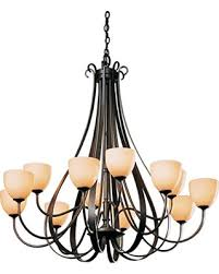 12 Arm Chandelier Bargains On Hubbardton Forge 192148 1012 Sweeping Taper 12 Arm