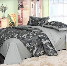 camouflage army camo bedding sets king queen full size pure cotton