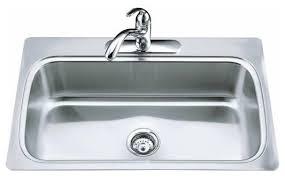 Single Kitchen Sinks Sink Faucet Design Traditional Sle Single Kitchen Sinks