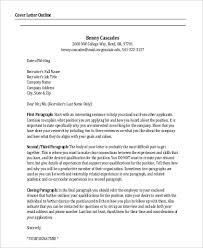 resume cover letter template u2013 9 free word excel pdf