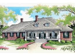house plans with porches on front and back whispering manor one home plan 020s 0015 house plans and more