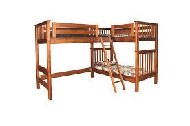 Triple Trouble Loft Bunk Bed - L bunk bed