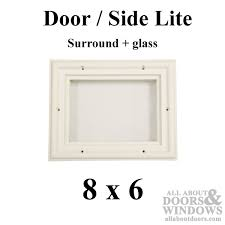 Exterior Door Window Inserts Replacement Door Glass Surround Door Lite