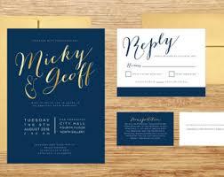 navy wedding invitations navy and gold wedding invitations navy and gold wedding