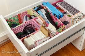 Organizing Desk Drawers Office Drawer Organizing Diy With Free Materials