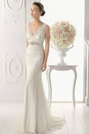 half lace wedding dress aire barcelona 2014 bridal collection lace wedding dresses