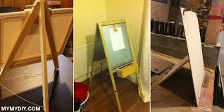 how to make a simple table top easel 9 simple diy easel projects free plans mymydiy inspiring diy
