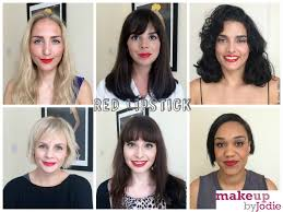 Warm Tone Hair Color Red Lipstick For Brunettes With Warm Skin Tones
