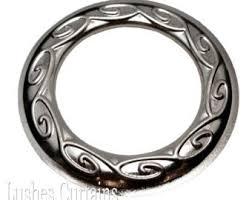large metal rings images Large metal rings etsy jpg