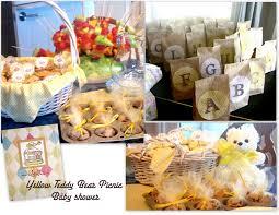 photo teddy bear baby shower invitations image