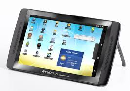 android tablet pc archos 70 android tablet pc gadgetsin