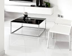 contemporary square glass coffee table unico glass linear square coffee table in choice of finish
