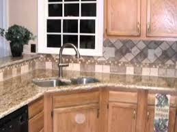 pictures of kitchen backsplashes with granite countertops tile backsplash designs spice up your granite countertops with