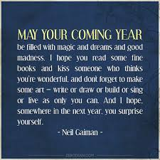 may your coming year be filled with magic zerodean