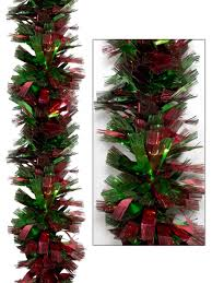 thick metallic green tinsel garland 2m garlands wreaths