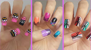 Best Easy Nail Designs At Home Step By Step Images Interior - Easy at home nail designs