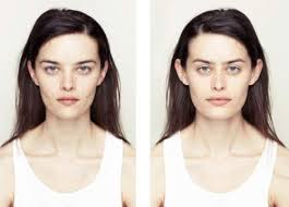 see what you would look like with different color hair how your face would look like if you were perfectly symmetrical