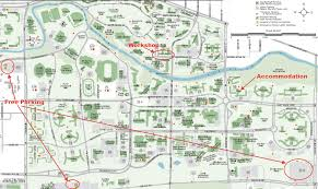 University Of Michigan Campus Map by Lon Capa Summer Workshop 2011