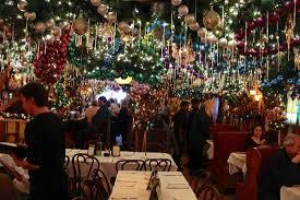 Rolfs Nyc Christmas Lights Everywhere Picture Of Rolf U0027s Bar U0026 Restaurant New York