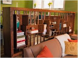 Open Bookshelf Room Divider Furniture Home Best Room Dividers Eight Shape Wooden Bookshelves