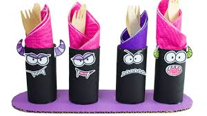toilet roll halloween monsters diy crafts ideas for kids box