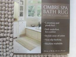 Ombre Bath Rug Town Country Living Ombre Spa Bath Rug Country Bathroom