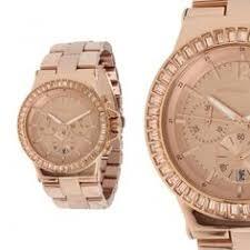 designer damenuhren michael kors mk3131 damenuhr mit chronograph gold armband neu
