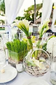 modern centerpieces wedding inspiration dara and daniel s modern wedding in the